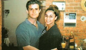 Victim Joe Cinque and Anu Singh in happier times.