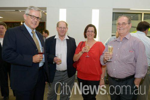 John Blaxland, Rick Delvin with Jenny and Roger Lee
