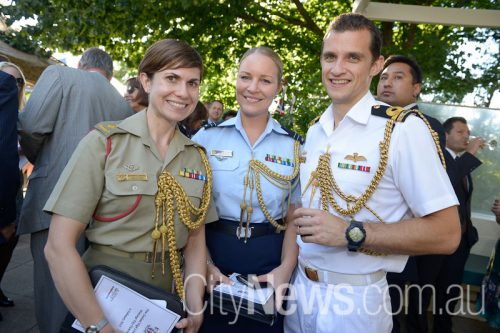 Kathryn Christie, Nicole Strybasch and Matt Hudson