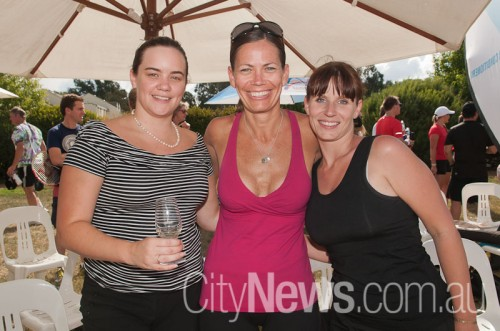 Kayla Scott, Tracy Atherton and Juliane Strache
