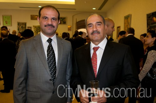 Majid Kamsh and Prof Fadhil Farhood Makki Al-Joborae