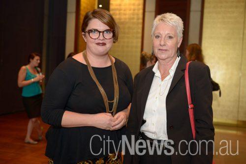 Mireva Holmes and Robyn Boak