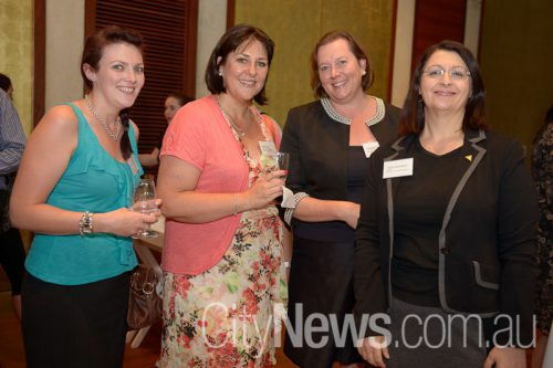 Sarah Smith, Karen Lock, Elizabeth Medley and Tania Goodacre
