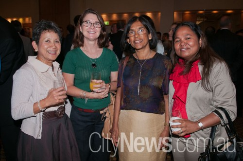 Vanny Ho, Ros Phillips, Pushpa Ekanayake and Elisa da Silva