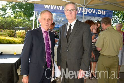 he High Commissioner of New Zealand Martyn Dunner and Deputy Chief of Mission to the United States of America Jason P Hyland
