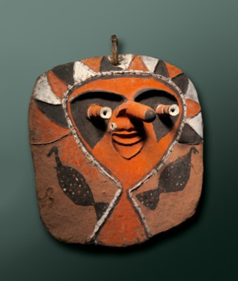 "Artist or owner: Kamanlyk from Vanuatu, MalampaProvince, MalakulaIsland, Lendamboe village. Work: ""Metaniele"" c.1972"