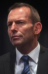 Incoming Prime Minister Tony Abbott.