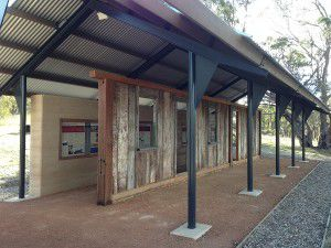 "The new ""Gudgenby in a box"" exhibit at Namadgi Visitors Centre."