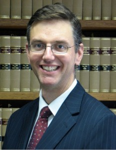 New Master of the Supreme Court, David Mossop.