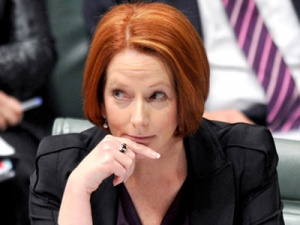 Should she stay or should she go? Prime Minister Julia Gillard