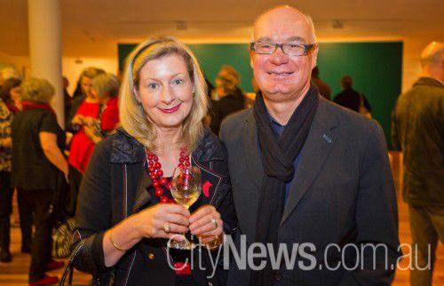 Harriet Elvin and Alastair Swayn