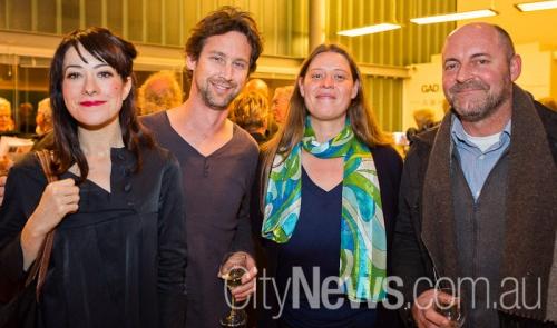 Jaklyn Babington, Mark Dyson, Carrie Fowlie and Simon Haberle
