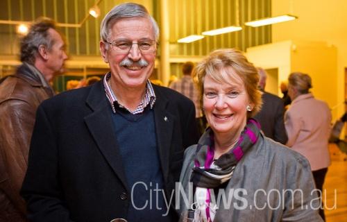 Kerry and Judith Webb
