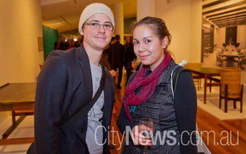 Ryan Robinette and Saini Copp