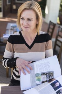 "Queanbeyan author Nichole Overall... ""we're actually a city of champions in every sense from community service to regional leaders, industry to artistic endeavours and cultural pursuits."" Photo by Andrew Finch"