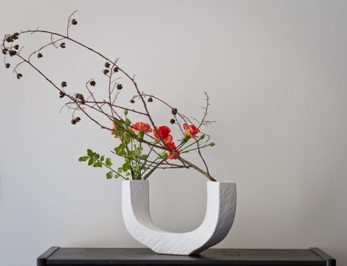 Ikebana. Photos: Brent McDonald