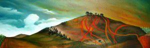 Helen Tiernan, ' Fire tracks'
