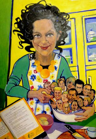 "Val Johnson's ""Annabel's Kitchen."""