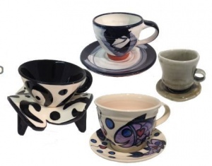 Jane Crick teacups