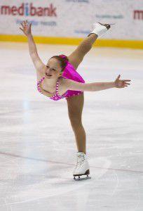 "Canberra's Dilli Kenyon… ""Flawless"" skating."