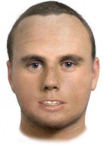 A facefit of the alleged offender.