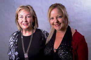 l. Jill Walsh and r. Karen Strahan, new musical