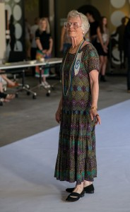 Mature model Helen Benneworth tries out for a spot on the Fashfest catwalk. Photo by Gary Schafer