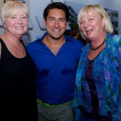 Julianne Cox, Jamie Durie and Carmel Henry