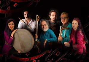 The Mah Ensemble… playing Persian melodies at the ANU on February 21.