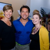 Sue Macleod, Jamie Durie and Emma Sandford
