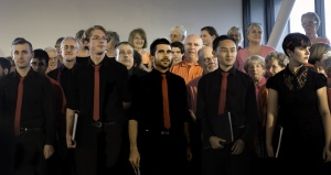 Full chorus, photo Judith Crispin