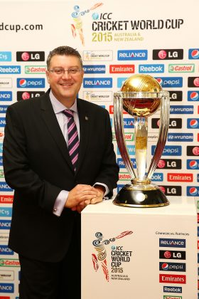 The Cricket World Cup's local CEO John Harnden.