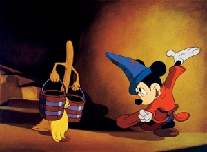 Mickey the Sorcerer