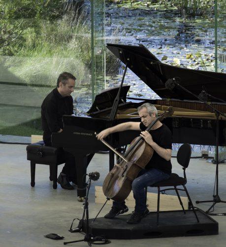 Cellist, Giovanni Sollima, Pianist, Dejan Lazic