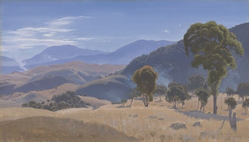 "Elioth Gruner ""Murrumbidgee Ranges"" 1934"