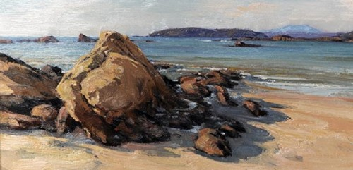Sunpatch-Rocks, Tomakin by John Sharman