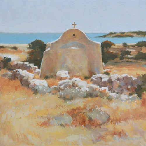 "Rick Everingham, ""Little Church in Greece"""
