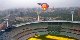 skywhale over melbourne
