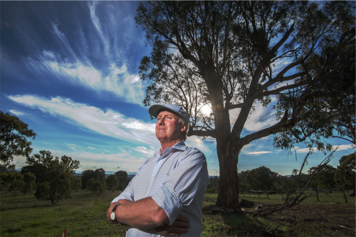 "Ecologist John Briggs… ""I'm really disappointed that the ACT government has taken such a ruthless view to our efforts."" Photo by Gary Schafer"