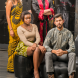 Models from racially inclusive Fashfest… Minthaka Wrjeyaratra, Eric Nugent, Wanile Mlaisa and Adam Ridwan. Photo by Gary Schafer