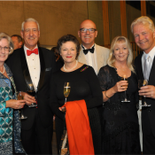 Ann and Brian Hewitt, Helen Mussett, Tony Wilkes and Ros and Paul Philippa