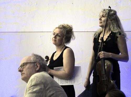 Rhapsodic: Bengt Forsbeg, Klara Hellgren and Susanne Magnusson,  photo  Judith Crispin