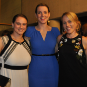Carla Borg, Louise Barry and Cathy Starling