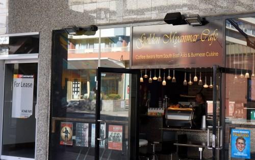 golden myanmar cafe