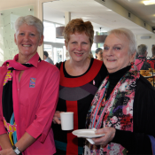 Frances Heaney, Kerrie Griffin and Lesley Hindley
