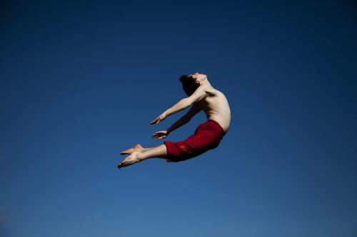 Dancer Jamie Winbank, photo by   by Lorna Sim