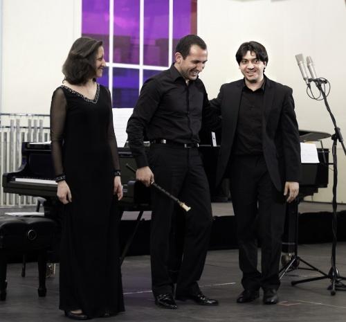 Emmanuel Hovhannisyan, Levon Eskenian, Lusine Grigoryan