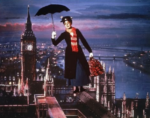 Julie Andrews as Mary Poppins 1964