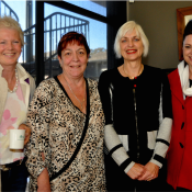 Kate davy, Linda Ayres, Sally Kaye and Jemma O'Brien