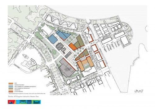 Kingston Section 49 master plan (map)